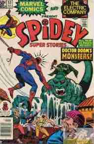 """Yesterday's"" Comic> Spidey Super Stories#53"