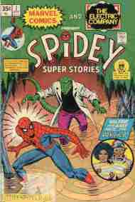 """Yesterday's"" Comic> Spidey Super Stories #7"