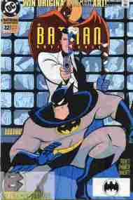 """Yesterday's"" Comic> The Batman Adventures #22"