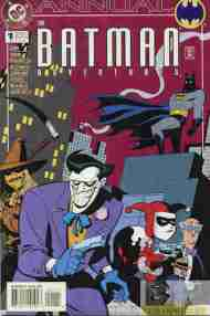 """Yesterday's"" Comic> The Batman Adventures Annual #1"