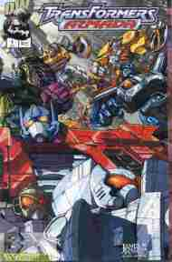 """Yesterday's"" Comic> Transformers Armada #1"