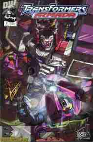 """Yesterday's"" Comic> Transformers Armada #2"