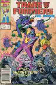 """Yesterday's"" Comic> Transformers: The Movie #2 (Marvel version re-post)"