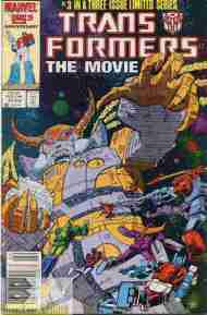 """Yesterday's"" Comic> Transformers: The Movie #3 (Marvel Re-Post)"