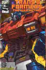 """Yesterday's"" Comic> Transformers: The War Within #1"