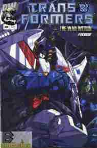 """Yesterday's"" Comic> Transformers: The War Within Preview"