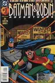 """Yesterday's"" Comic> Batman & Robin Adventures#1"