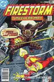 """Yesterday's"" Comic> Firestorm #4"
