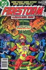 """Yesterday's"" Comic> Firestorm #5"