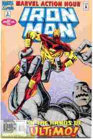 """Yesterday's"" Comic> Marvel Action Hour: Iron Man #3"