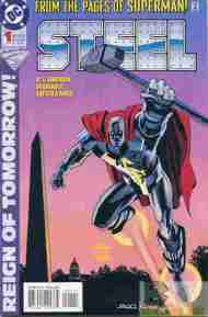 """Yesterday's"" Comic> Steel#1"