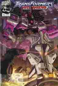 """Yesterday's"" Comic> Transformers Armada#6"