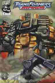 """Yesterday's"" Comic> Transformers Armada#10"