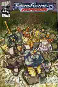 """Yesterday's"" Comic> Transformers Armada #8"