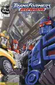 """Yesterday's"" Comic> Transformers Armada#9"