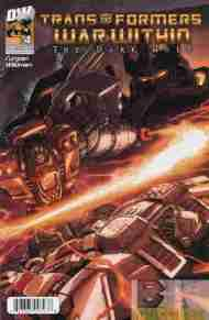"""Yesterday's"" Comic> Transformers: The War Within – The Dark Ages #4"