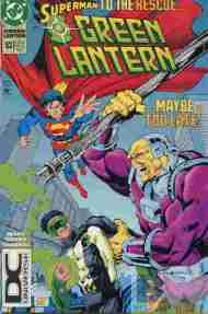 """Yesterday's"" Comic> Green Lantern #53"