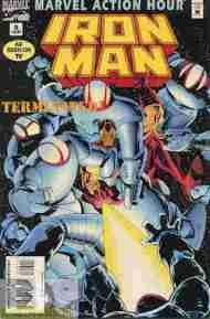 """Yesterday's"" Comic> Marvel Action Hour: Iron Man #8"