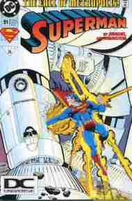 """Yesterday's"" Comic> Superman #91"