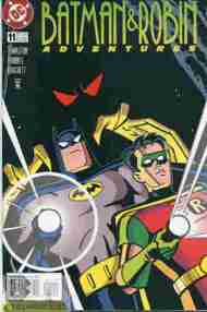 """Yesterday's"" Comic> Batman & Robin Adventures #11"