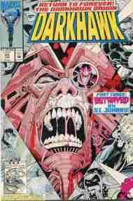 """""""Yesterday's"""" Comic> Darkhawk#23"""