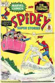 """Yesterday's"" Comic> Spidey Super Stories #6"