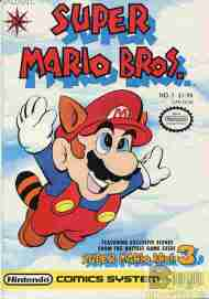 """Yesterday's"" Comic> Super Mario Brothers #1"