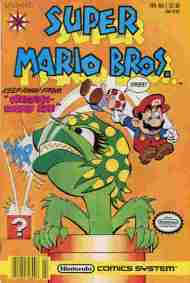 """Yesterday's"" Comic> Super Mario Bros Vol 1#1"
