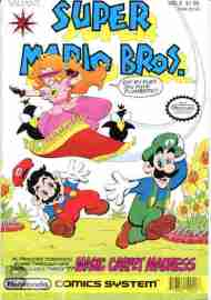 """Yesterday's"" Comic> Super Mario Brothers #2"