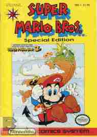"""""""Yesterday's"""" Comic> Super Mario Brothers SpecialEdition"""