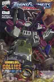 """Yesterday's"" Comic> Transformers Armada#15"