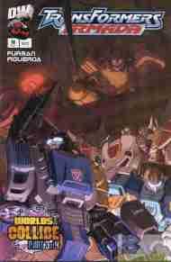 """Yesterday's"" Comic> Transformers Armada#16"