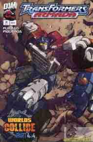 """Yesterday's"" Comic> Transformers Armada#17"