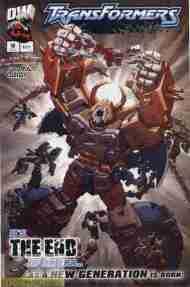 """Yesterday's"" Comic> Transformers Armada#18"