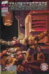 """""""Yesterday's"""" Comic> Transformers: Micromasters#3"""