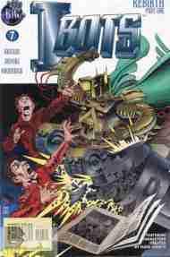 """Yesterday's"" Comic> Isaac Asimov's I-Bots Vol. 2#7"