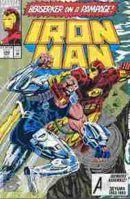 """Yesterday's"" Comic> Iron Man #292"