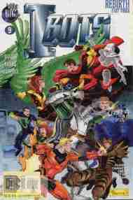 """Yesterday's"" Comic> Isaac Asimov's I-Bots Vol. 2#9"