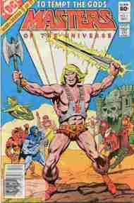 """Yesterday's"" Comic> Masters Of The Universe #1 (classic DC miniseries)"
