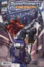 """Yesterday's"" Comic> Transformers Energon#19"