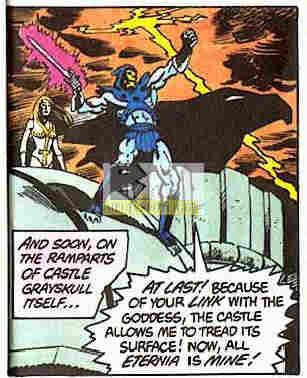 MOTU Tale Of Teela Greyskull