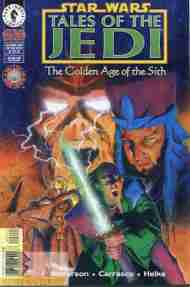 """""""Yesterday's"""" Comic> Star Wars: Tales Of The Jedi – Golden Age Of The Sith#2"""