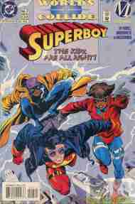 """""""Yesterday's"""" Comic> Superboy #7 (Worlds Collide ch.8)"""