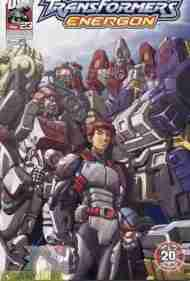 """Yesterday's"" Comic> Transformers Energon #23"