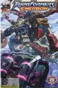 """Yesterday's"" Comic> Transformers Energon #25"
