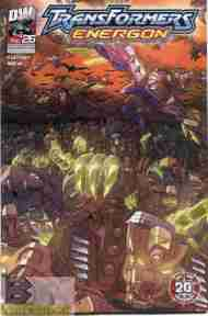 """Yesterday's"" Comic> Transformers Energon #26"