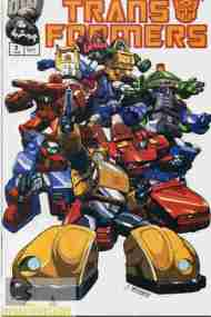 """Yesterday's"" Comic> Transformers: Generation One #3"