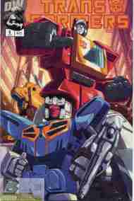 """Yesterday's"" Comic> Transformers: Generation One #5"