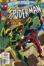 """""""Yesterday's"""" Comic> Adventures Of Spider-Man#4"""