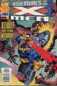 Adventures Of The X-Men #4